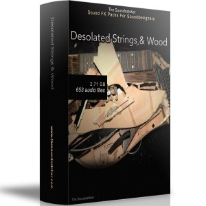 Desolated Strings & Wood Box